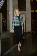 KARLIE KLOSS Leaves Iron School Talk in London 04/09/2018