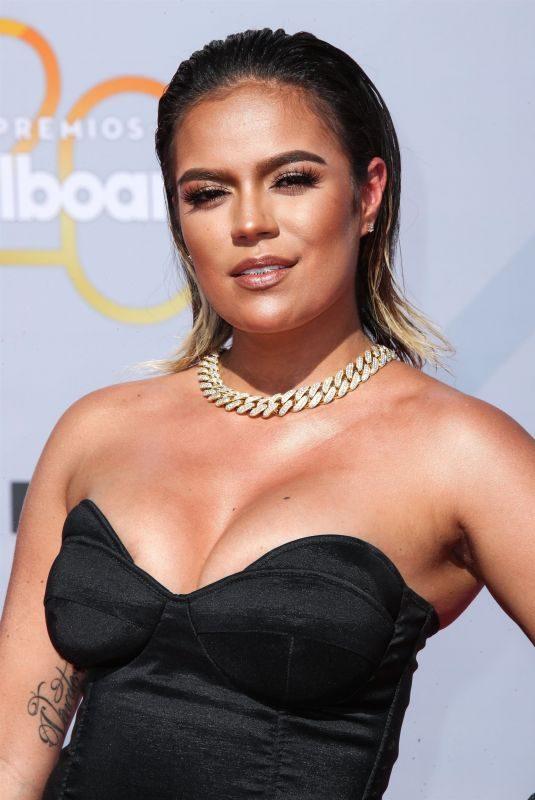 KAROL G at Billboard Latin Music Awards in Las Vegas 04/26/2018