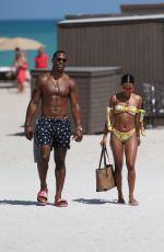 KARRUECHE TRAN in Bikini at a Beach in Miami 04/13/2018