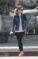KATE MARA Heading to a Gym in Los Angeles 04/01/2018