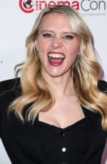KATE MCKINNON at Lionsgate Presentation at Cinemacon in Las Vegas 04/26/2018