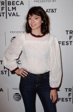 KATE MICUCCI at 7 Stages to Achieve Eternal Bliss Premiere at Tribeca Film Festival in New York 04/20/2018