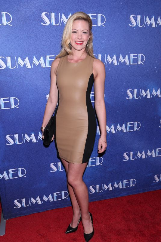 KATE ROCKWELL at Summer: The Donna Summer Musical Opening Night in New York 04/23/2018