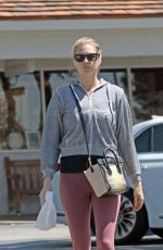 KATE UPTON Out and About in Beverly Hills 04/17/2018