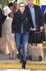 KATE WINSLET at JFK Airport in New York 04/25/2018