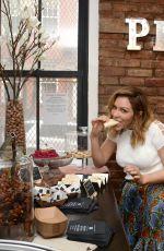 KATHARINE MCPHEE at American Pecans Not Pie Shop in New York 04/25/2018