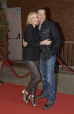 KATHERINE KELLY LANG at Maurizio Costanzo Show at Voxson Studios in Rome 04/04/2018