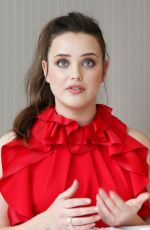 KATHERINE LANGFORD at Love, Simon Photocall in Los Angeles 04/11/2018