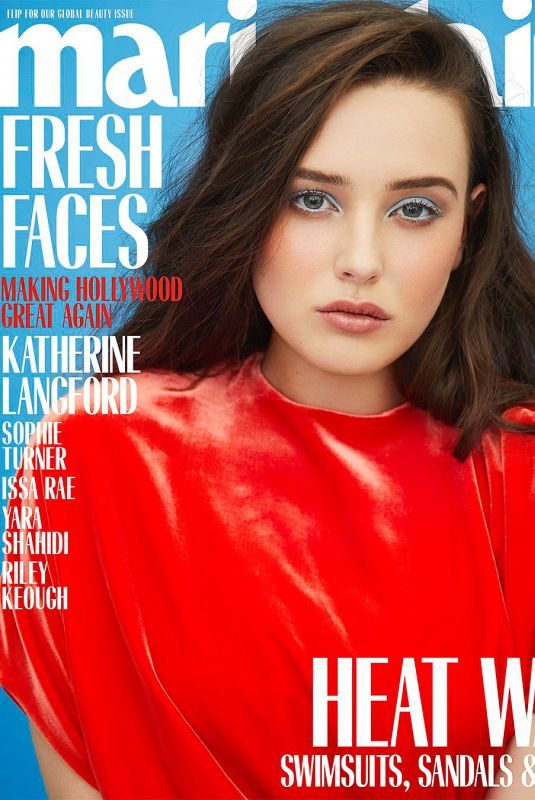 KATHERINE LANGFORD in Marie Claire Magazine, May 2018