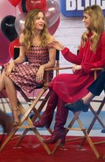 KATHRYN NEWTON and LESLIE MANN Promotes Her Blockers Movie at Today Show in New York 04/02/2018