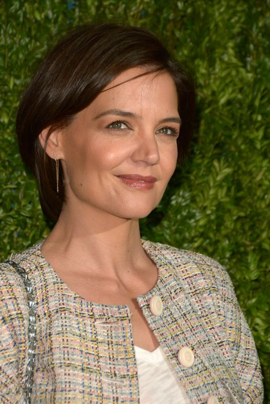 KATIE HOLMES at Chanel Tribeca Film Festival Artists Dinner in New York 04/23/2018