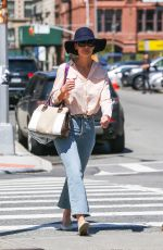 KATIE HOLMES Out and About in New York 04/26/2018