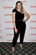 KATIE LOWES at Scandal Finale Live Stage Reading in Hollywood 04/19/2018