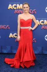 KAYLIN ROBERSON at 2018 ACM Awards in Las Vegas 04/15/2018