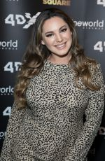 KELLY BROOK at Cineworld Leicester Square Relaunch Party in London 04/19/2018