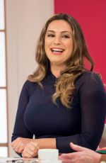 KELLY BROOK at Loose Women Show in London 04/04/2018