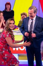 KELLY BROOK at Loose Women Show in London 04/24/2018