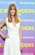 KELLY LYNCH at Contenders Emmys Presented by Deadline Hollywood, Green Room in Los Angeles 04/15/2018