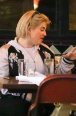 KELLY OSBOURNE Out for Lunch at Little Dom