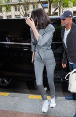 KENDALL JENNER Arrives at Her Hotel in Paris 04/05/2018