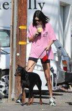 KENDALL JENNER Out and About in West Hollywood 04/23/2018