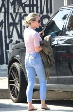 KENDRA WILKINSON Out and About in West Hollywood 04/26/2018