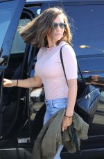KENDRA WILKINSON with New Brunette Hairdo Out in West Hollywood 04/26/2018