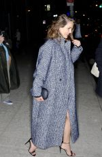 KERI RUSSELL Leaves Watch What Happens Live in New York 04/04/2018