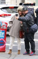 KERI RUSSELL Out and About in New York 04/02/2018