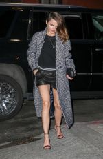 KERI RUSSELL Out for Dinner in New York 04/04/2018