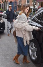 KERI RUSSELL Out for Lunch in New York 04/17/2018