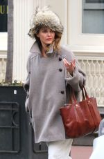 KERI RUSSELL Out in New York 04/02/2018