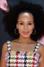 KERRY WASHINGTON at Eva Longoria Hollywood Walk of Fame Ceremony in Los Angeles 04/16/2018