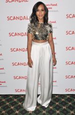 KERRY WASHINGTON at Scandal Finale Live Stage Reading in Hollywood 04/19/2018