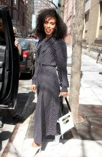 KERRY WASHINGTON Out and About in New York 04/11/2018