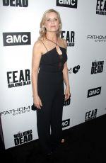 KIM DICKENS at FYC The Walking Dead and Fear the Walking Dead in Los Angeles 04/15/2018