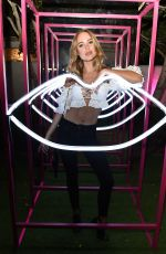 KIMBERLEY GARNER at YSL Beauty Festival Featuring Halsey in Palm Springs 04/12/2018