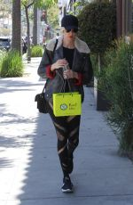 KIMBERLY STEWART Out Shopping in Beverly Hills 04/21/2018