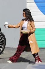 KOURTNEY KARDASHIAN Leaves a Studio in Los Angeles 04/10/2018