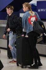 KRISTEN STEWART and STELLA MAXWELL at Los Angeles International Airport 04/04/2018