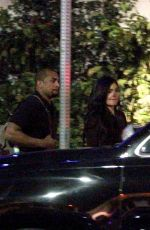 KYLIE JENNER Leaves Highlight Room in Hollywood 04/26/2018
