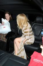 KYLIE MINOGUE Arrives at HMV Oxford Street in London 04/05/2018