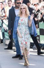 KYLIE MINOGUE at AOL Build in New York 04/26/2018