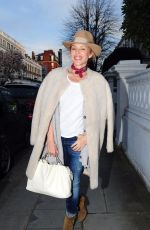 KYLIE MINOGUE Leaves Her House in London 04/06/2018
