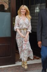 KYLIE MINOGUE Out in New York 04/24/2018