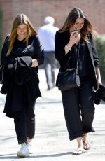 KYM MARSH and ALISON KING on the Set of Coronation Street in Manchester 04/26/2018