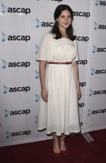 LANA DEL REY at 35th Annual Ascap Pop Music Awards in Beverly Hills 04/23/2018