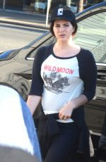 LANA DEL REY Out and About in Sydney 04/01/2018