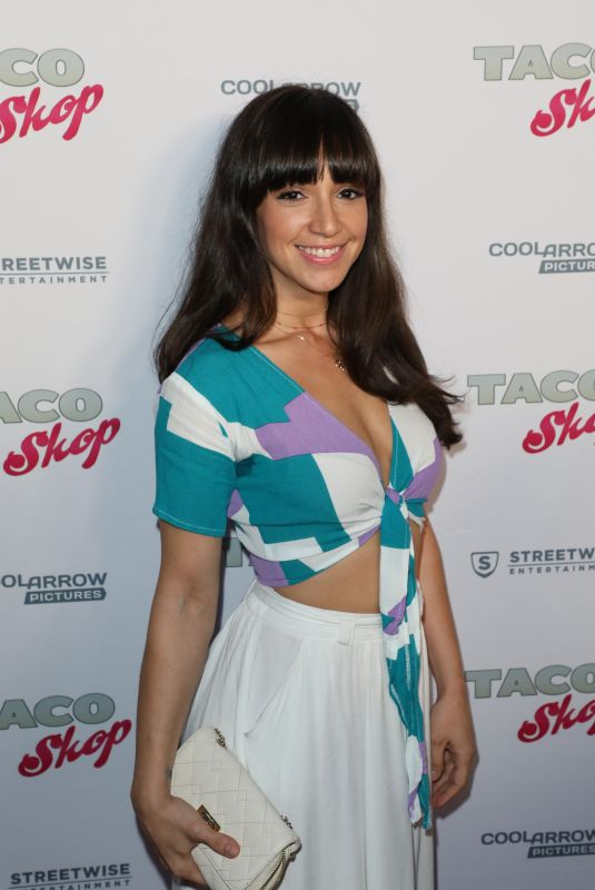 LAURA ALEMAN at Taco Shop Premiere in Los Angeles 04/23/2018