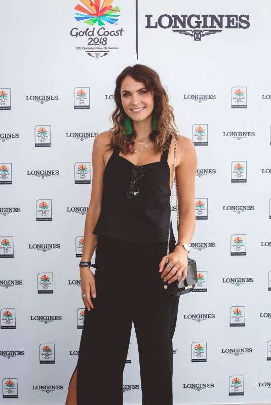 LAURA BYRNE at Longines Records Club Luncheon in Gold Coast 04/10/2018